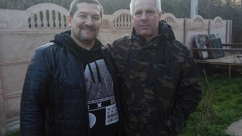 Троюродные братья Алексей и Сергей