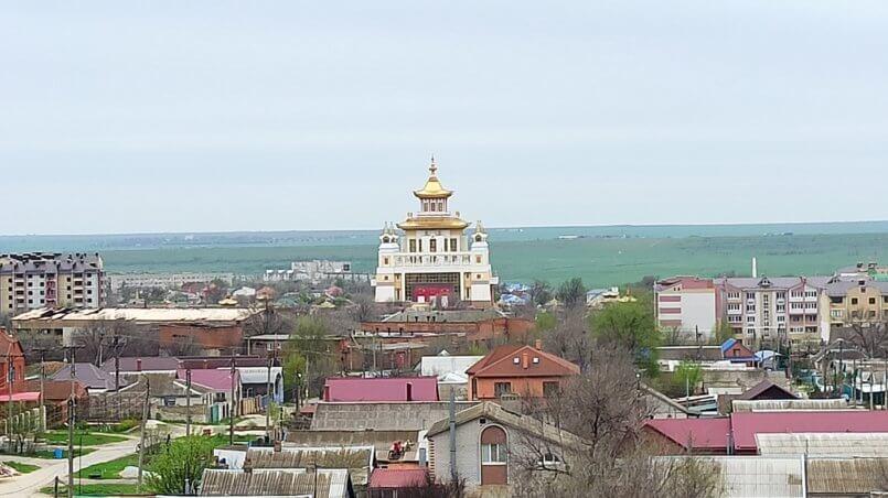 Вид из окна на Хурул