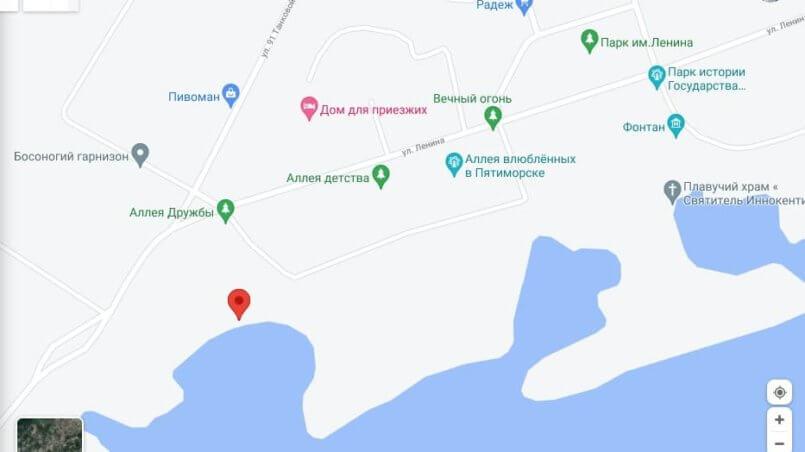 Координаты парка в Пятиморске