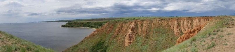 Панорама Александровского грабена